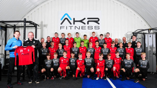 Aberdeen Gym Breathes New Life into Local Football Team